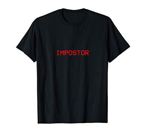 Impostor / Crewmate tee I Impostor Game Gaming Meme funny T-Shirt
