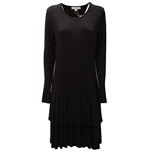 5996AD Abito Donna Michael MICHAEL KORS Black Dress Women [L]