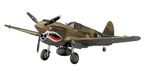 Hasegawa JT86 P-40E Warhawk USAAF - Avión Miniatura [Importado de Alemania]