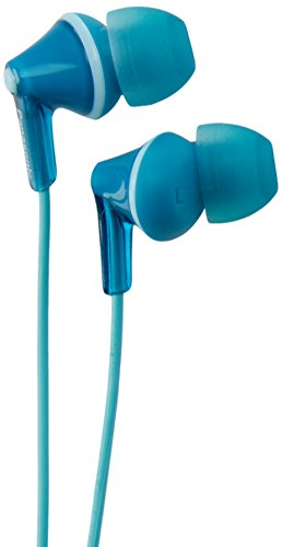 Panasonic RP-HJE125-Z Wired Earphones, Turquoise