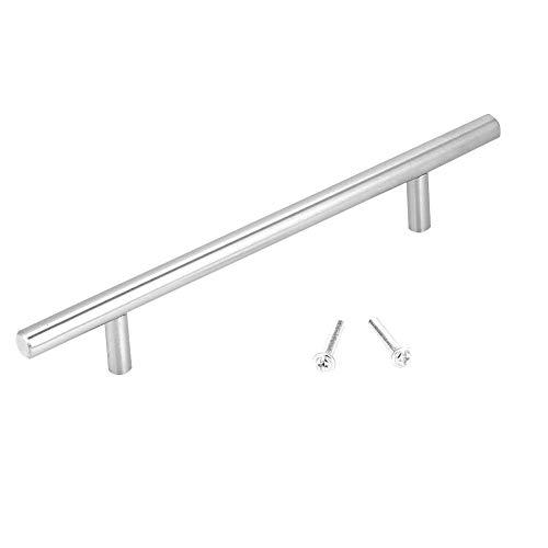 Rostfritt stål skåphandtag – rostfritt stål T barskåp draghandtag knoppar kök dörrhandtag för möbler (250 mm)