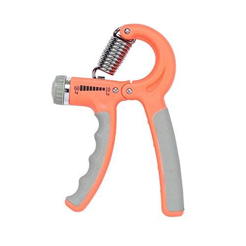 Zhuhaixmy Handgriff Kraftverstärker, Einstellbarer Widerstand (10-60KG) Handübungs Greifer Unterarm Greifer für Fitness Krafttraining