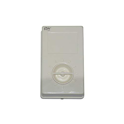 EDM 33998 Regulador Controlador para Ventilador Industrial Techo, Multicolor
