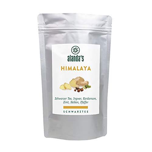 """Schwarztee """"Himalaya"""" │ 100g │ Schwarzteemischung │ Schwarzer Tee, Ingwer, Kardamom, Zimt, Nelken, Pfeffer und natürliches Aroma"""