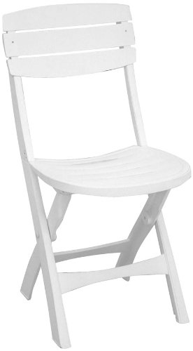 Plastica Alto Sele - ALEGILDA - Jeu de Plein Air - Chaise Pliante Gildae - Blanc