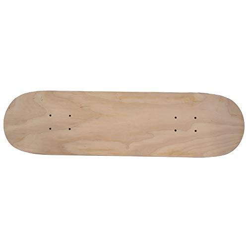 RETTI 8 Zoll 8 Schicht Ahorn Blank Doppelt Concave Skateboards Natürliche Skate Deck Board Skateboards Tisch Holz Ahorn