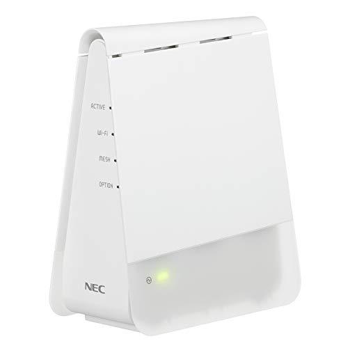 NEC 無線LAN WiFi メッシュルーター単体 Wi-Fi 6(11ax)/AX1800 Atermシリーズ AM-AX1800HP(MC)