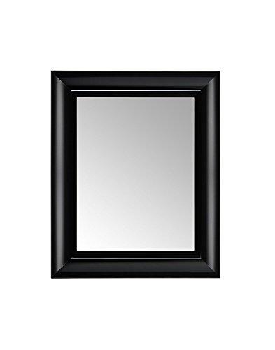 Kartell Francois Ghost, Miroirs Muraux, 65 X 79cm, Noir Couvrants Glacè