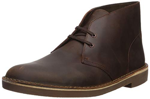 Clarks Men's Bushacre 2 Chukka Boot,Dark Brown,12 M US