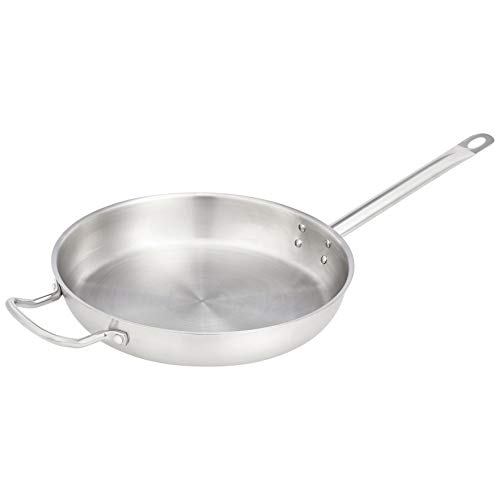 12 frying pan stainless steel - 5
