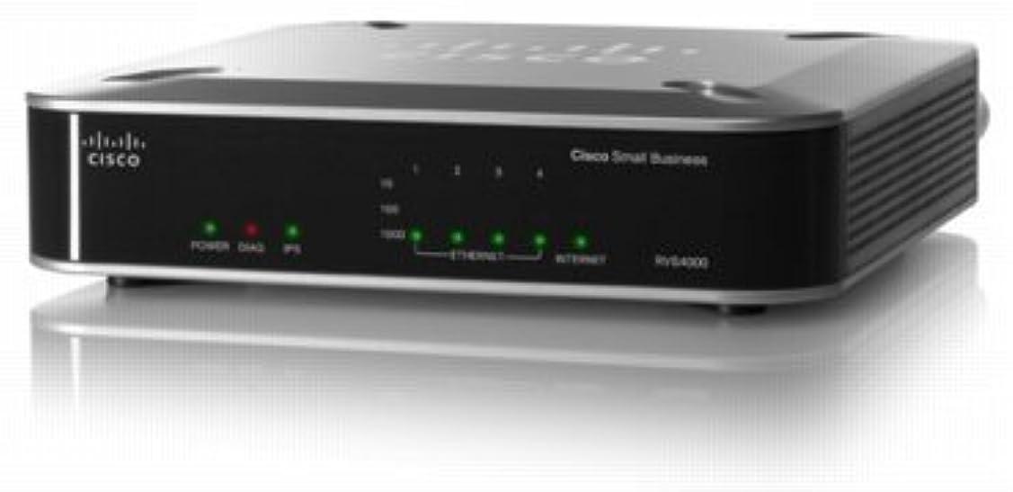 中傷軍隊オーバーコートCisco(SmallBusiness) (RVS4000-JP) RVS4000-JP 4ポート ギガビット VPN搭載セキュリティルータ RVS4000-JP