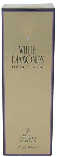 Elizabeth Taylor White Diamonds Eau de toilette en flacon vaporisateur pour femme avec sac cadeau 100 ml