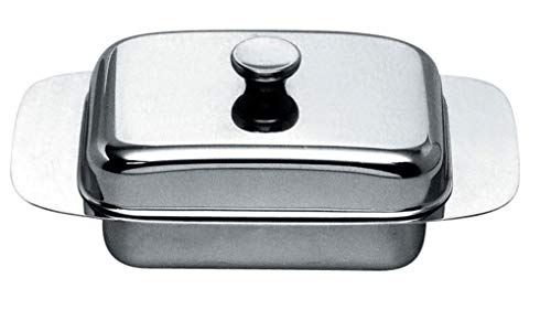 Alessi Butter Dish, Silver