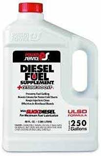 Power Service Diesel Fuel Supplement +Cetane Boost, 80 oz, treats up to 250 gal. (1041)