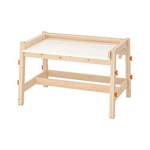 VBARV Zeichentisch aus Holz für Kinder, Malertisch aus Holz für Kinder, höhenverstellbar, geneigter Schreibtisch, mit Zeichenpapierrollenhalter, ideal zum Schreiben, Lesen und Zeichnen