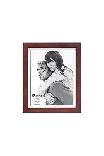 Malden International Designs Picture Frame, 8x10, Dark Walnut