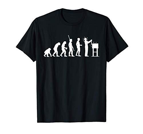 Imker Lustig Witzig Herren Männer Imker Evolution T-Shirt