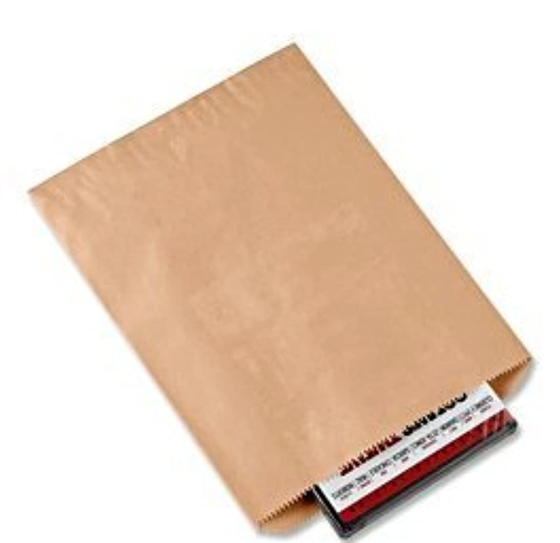 A1BakerySupplies? Premium Quality Kraft Paper Bags Flat Merchandise Bags Made in USA 100pack (8.5 X 11 In)