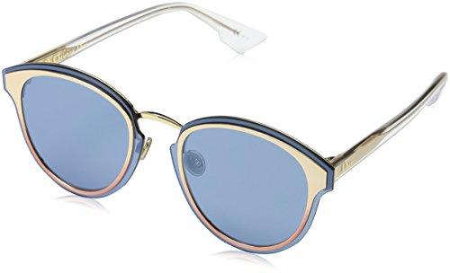 Dior DIORNIGHTFALL 2A 35J Gafas de sol, Rosa (Pink/Blue Grey Speckled Ar), 65 para Mujer