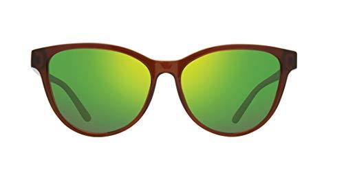 Revo Daphne - Gafas de sol polarizadas (56 mm), color marrón