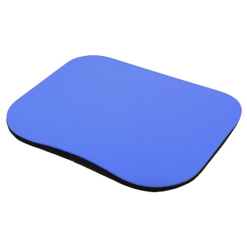 Micro-Pro Laptop Tray Lap Desk With Cushioned Bottom Portable Computer Writing Reading Work Homework Study Dinner Table For Bed Sofa Couch Bus Outdoors Library University College Student - Blue