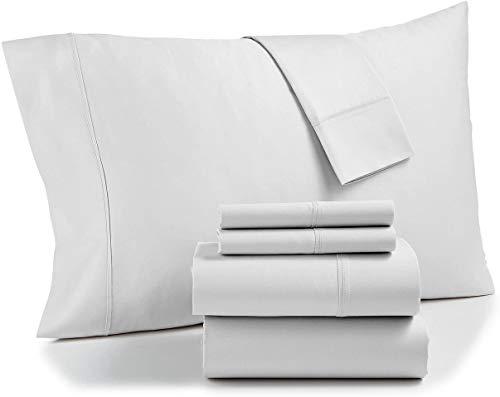 AQ Textiles Bradford StayFit Extra Deep Pocket 800 TC 6-Pc. Queen Sheet White