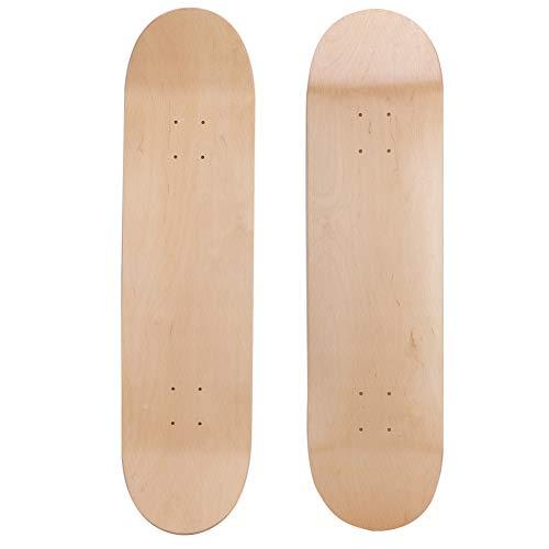 Keenso Skateboard Deck, Maple Skateboard Decks 150KG Bearing Blank Skate Deck