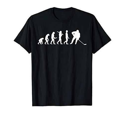 Regalo Per Giocatori Di Hockey Su Ghiaccio Evoluzione Maglietta