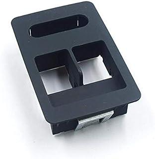 SYMJP パネルのV-O-L-K-S-W-G-E-Nのパワーウィンドウ制御スイッチ湖底パネル6X0 959 855Bを切り替えます (Color : ブラック, Size : フリー)