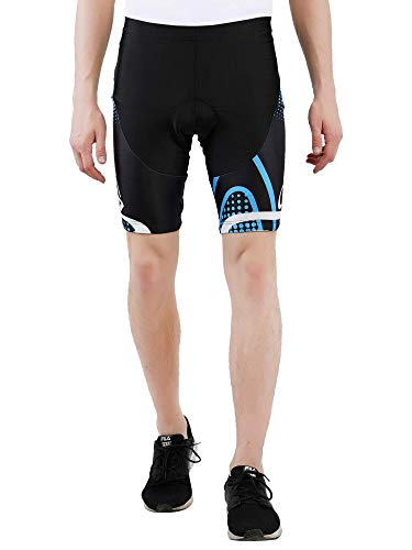MYCYCOLOGY Men's Nuckily Cycling Gel Padded Shorts XL Multi-Colour