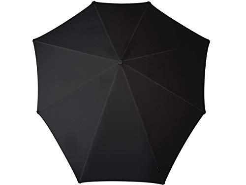 Senz° XXL Regenschirme Nie Aus Der Mode Stockschirme - Schwarz