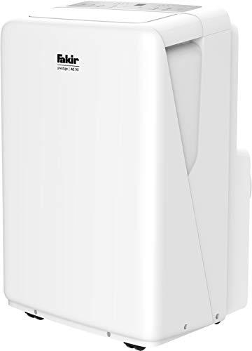 Fakir AC 90 prestige/mobiles Klimagerät, Luftkühler, Raumlüfter, 3 Windmodi + Automatik-Funktion, geeignet für Räume bis 85 m³, Timer, inkl. Fernbedienung, weiß – 2.600 Watt