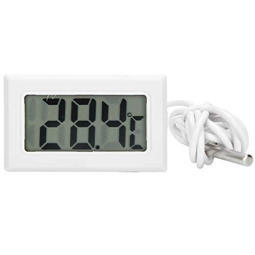 Okuyonic Wassertank-Thermometer, Thermometer-Sensor Aquarium-Überwachungs-Thermometer Bienenstock-Thermometer Gartenbedarf Digital für Inkubatoren