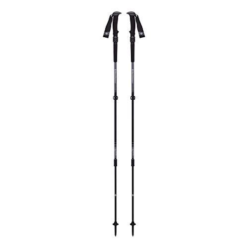 Black Diamond Trail Pro Shock Trek Poles Bâtons de randonnée Unisex-Adult, Granite, 105-140 cm