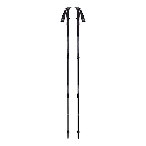 Black Diamond Trail Pro Shock Trek Poles Bastones de Senderismo, Unisex-Adult, Granite, 105-140 cm