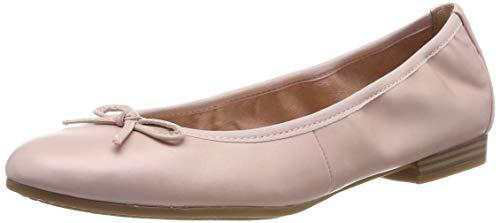 Tamaris Damen 1-1-22116-22 599 Geschlossene Ballerinas, Pink (ROSE PEARL 599), 39 EU