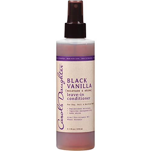 Carol's Daughter Black Vanilla Leave-In Conditioner, 8 fl oz (Packaging May Vary), 8 Fl Oz (Pack of 1)
