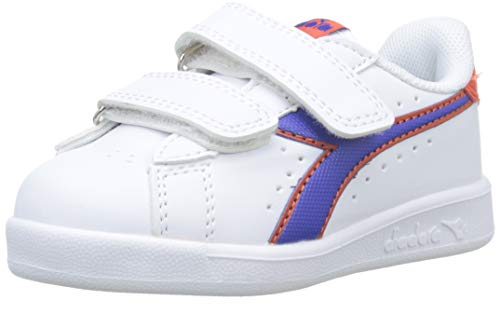Diadora Unisex-Kinder GAME P TD Sneaker Blu Imperiale 60050),  4 UK