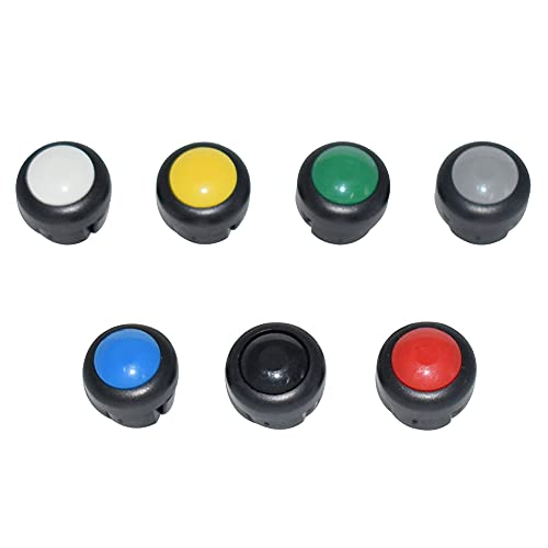 14 unidades de interruptores para motocicleta, botón, claxon, intermitentes, luz larga, luces de cruce, interruptores, altavoces, intermitentes