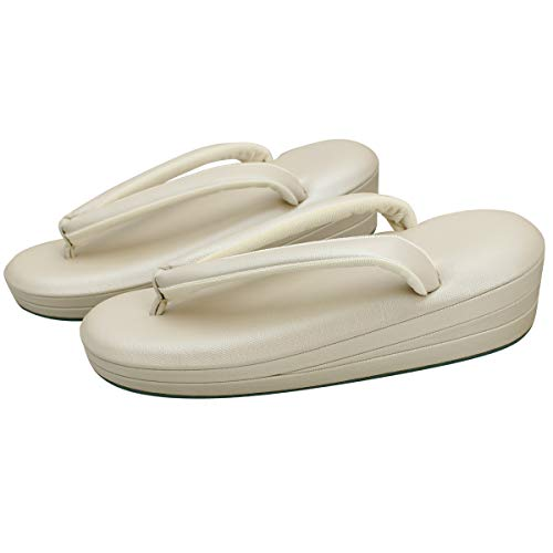 [きもの寿庵] 草履 低反発 帆布草履 Mサイズ さくら色