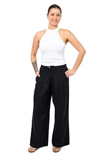 FANTAZIA - Pantalón de bola recta Rangoon – Talla S a XXXL – 100% algodón – caqui – Urban Street – Cómodo y original – creado en Francia, fabricación ética desde 2004.