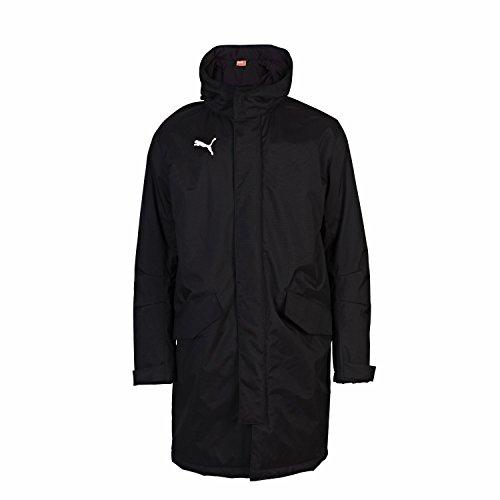 PUMA Herren Trainerjacke Manager Coat, Black, L