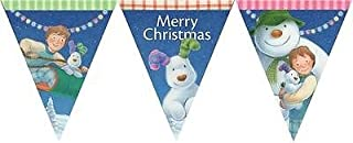 The Snowman and The Snowdog Christmas Bunting