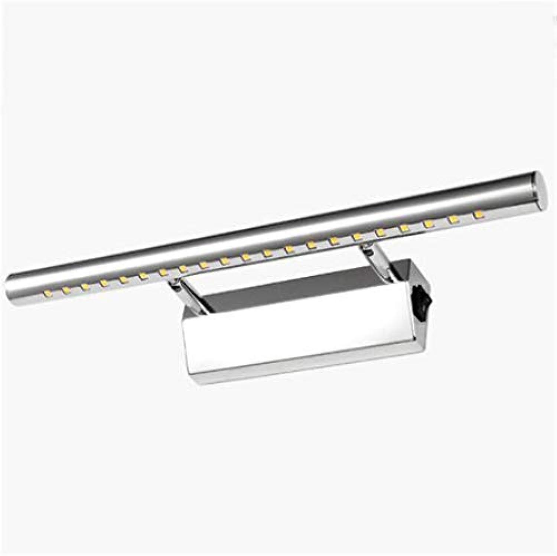 WLBD 5w führte Spiegellicht-Wandleuchten Ip44 Badezimmer-Lampe warmes Wei - mit Schalter