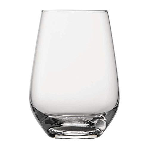 Schott Zwiesel - Bicchiere per Acqua, in Vetro, Vetro di Cristallo Tritan Met Tritan, Trasparente, 8.1 x 8.1 x 11.4 cm