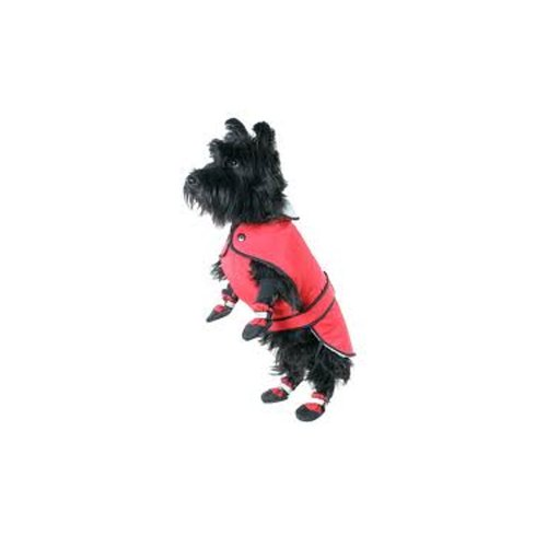 Muttluks Winterjas met drie lagen riem, 22-inch/55,88 cm, rood