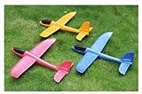 "KIRTI APPLIANCES Airplane Toy - 17.5"" Large Throwing Foam Plane, Dual Flight Mode"