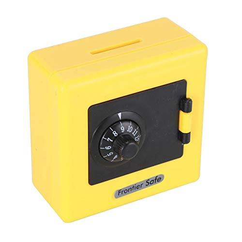 JSJJARF Hucha Contraseña Piggy Bank Money Box Cash Monedas Guardar Caja Combinatio Bloqueo Moneda Monedas Monedas Caja de Almacenamiento Ahorro Caja Efectivo (Color : Yellow-4)