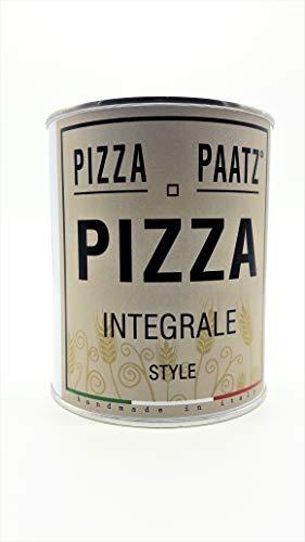 Pizza Paatz - Preparato per Pizza Integrale Pronta in 2 Ore 480g
