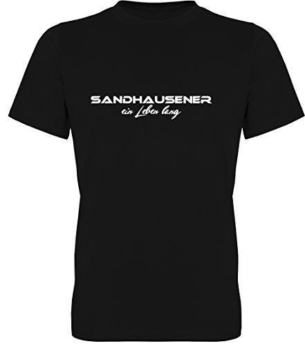 Sandhausener EIN Leben lang Fan-T-Shirt Unisex Herren 078.0171 (3XL)